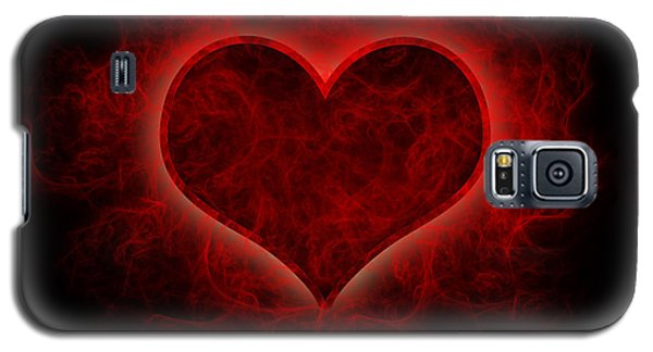 Heart's Afire Galaxy S5 Case by Beverly Stapleton