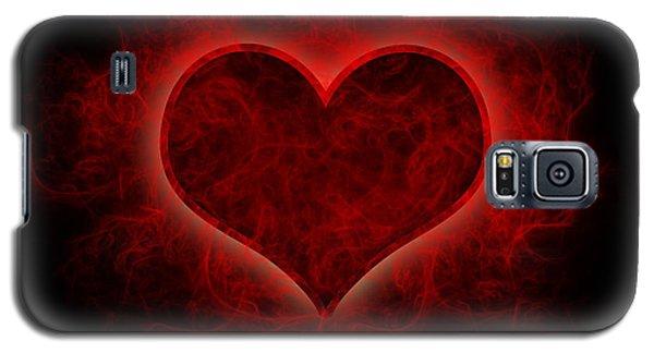 Heart's Afire Galaxy S5 Case