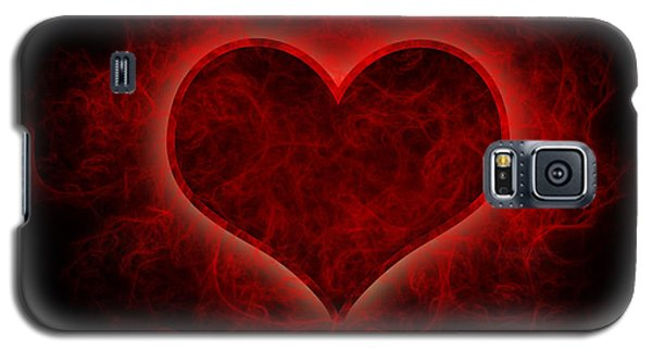Heart's Afire Galaxy S5 Case