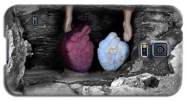 Hearts In Malachi Valentine Version Galaxy S5 Case by Tarey Potter