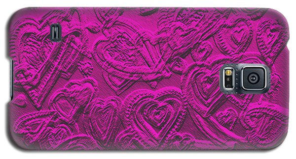 Hearts Of Love Galaxy S5 Case