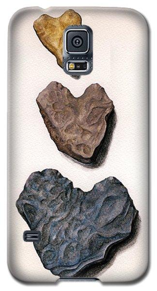 Hearts Rock Galaxy S5 Case