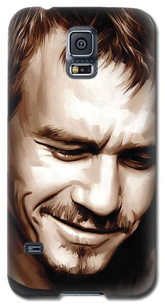 Heath Ledger Artwork Galaxy S5 Case by Sheraz A