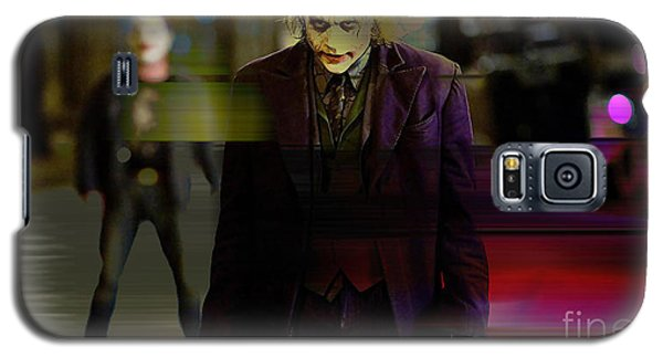 Heath Ledger Galaxy S5 Case by Marvin Blaine