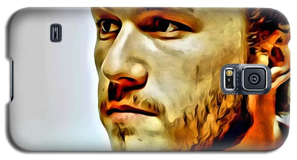 Heath Ledger Portrait Galaxy S5 Case by Florian Rodarte