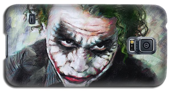 Heath Ledger The Dark Knight Galaxy S5 Case by Viola El