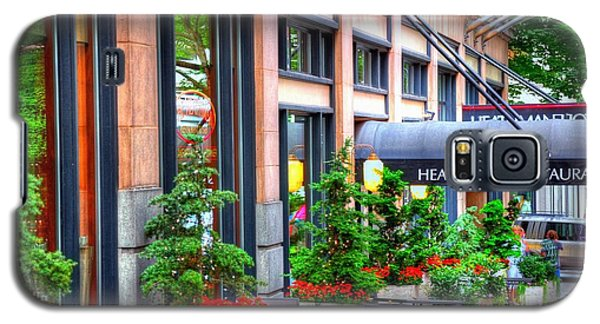 Heathman Restaurant 17368 Galaxy S5 Case by Jerry Sodorff