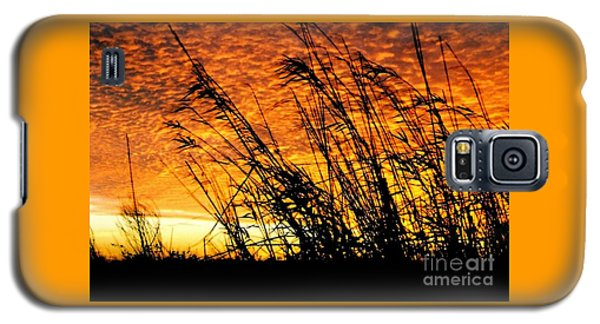 Sunset Heaven And Hell In Beaumont Texas Galaxy S5 Case by Michael Hoard