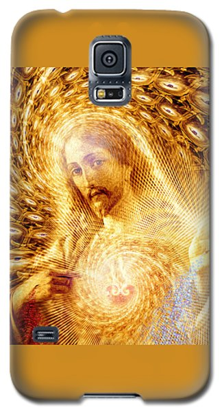 Galaxy S5 Case featuring the painting Heaven Is Within by Robby Donaghey