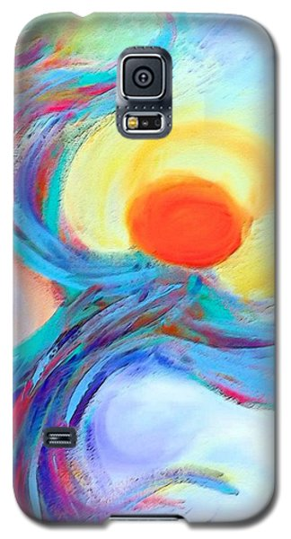 Heaven Sent Digital Art Painting Galaxy S5 Case by Robyn King
