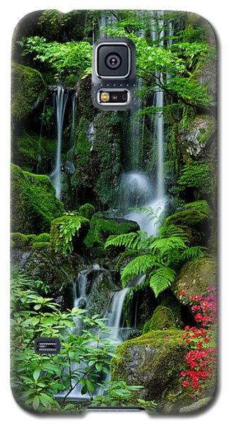 Heavenly Falls Serenity Galaxy S5 Case by Don Schwartz