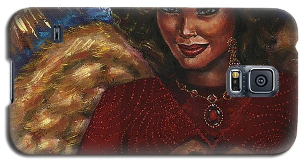 Galaxy S5 Case featuring the painting Heavenly Love by Alga Washington