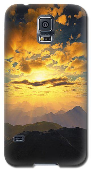 Heaven's Breath 27 Galaxy S5 Case by The Art of Marsha Charlebois