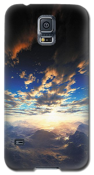 Heaven's Breath 31 Galaxy S5 Case by The Art of Marsha Charlebois