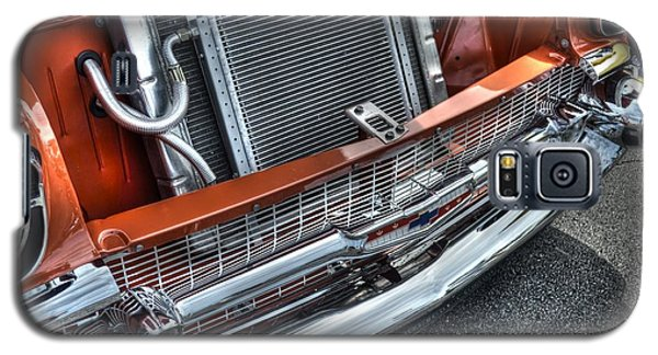 Galaxy S5 Case featuring the photograph Heavy Chevy by Timothy Lowry
