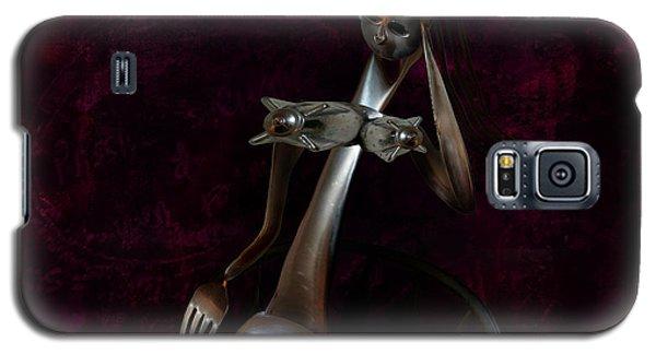 Heavy Metal Girl 2 Galaxy S5 Case by Kim Gauge