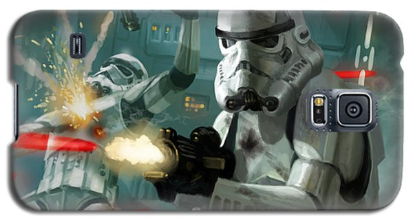 Heavy Storm Trooper - Star Wars The Card Game Galaxy S5 Case