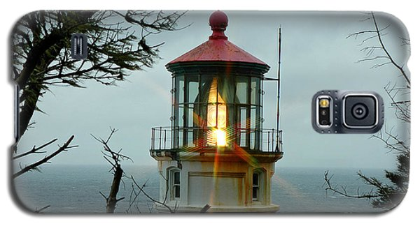 Galaxy S5 Case featuring the photograph Heceta Head Lighthouse by Nick  Boren