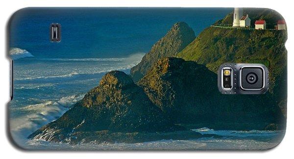 Heceta Head Seascape Galaxy S5 Case by Nick  Boren