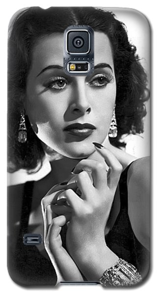 Hedy Lamarr - Beauty And Brains Galaxy S5 Case by Daniel Hagerman