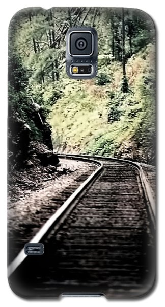 Hegia Burrow Railroad Tracks  Galaxy S5 Case