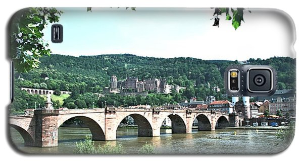 Heidelberg Schloss Overlooking The Neckar Galaxy S5 Case