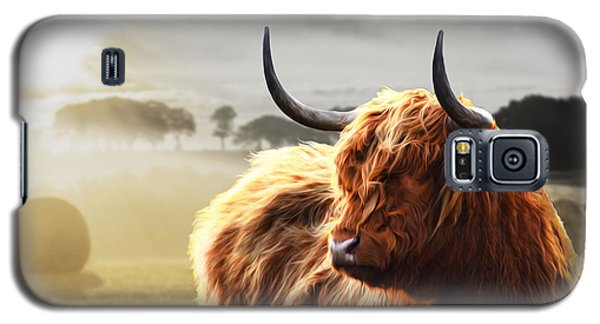 Heilan Coo On Fire Galaxy S5 Case