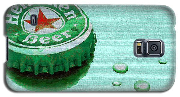 Heineken Cap Green Galaxy S5 Case
