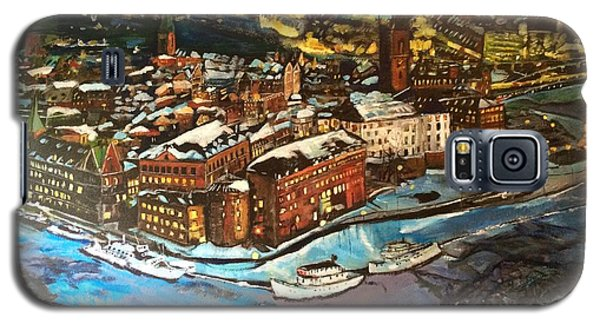 Hej Stockholm Galaxy S5 Case by Belinda Low