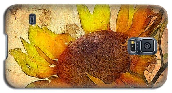 Helianthus Galaxy S5 Case by John Edwards
