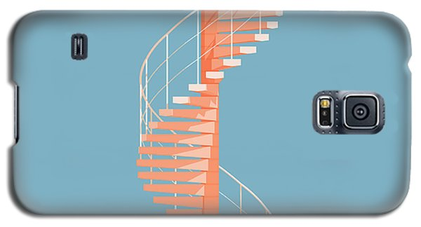 Galaxy S5 Case - Helical Stairs by Peter Cassidy