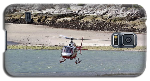 Helicopter Landing In Skagway Galaxy S5 Case