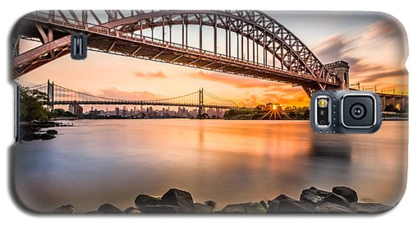 Hell Gate And Triboro Bridge At Sunset Galaxy S5 Case