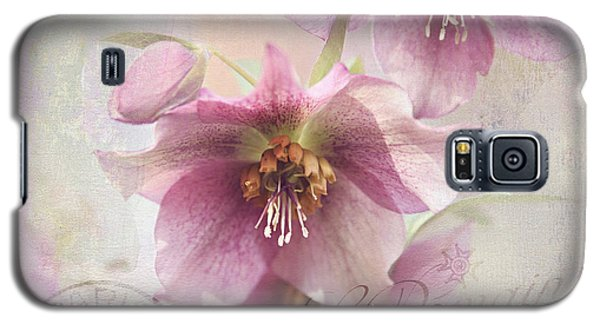 Galaxy S5 Case featuring the photograph Hellebore by Sylvia Cook