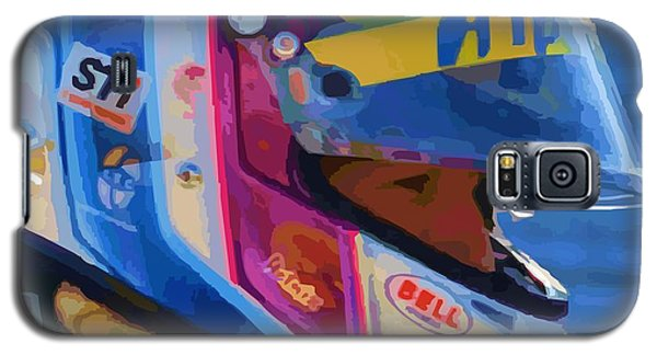 Galaxy S5 Case featuring the photograph Helmet Of A Female Hero by P Dwain Morris