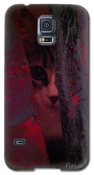 Galaxy S5 Case featuring the photograph Helping In The Art Studio by Jacqueline McReynolds