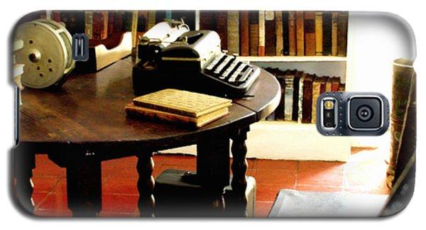 Hemingway's Studio Ernest Hemingway Key West Galaxy S5 Case by Iconic Images Art Gallery David Pucciarelli