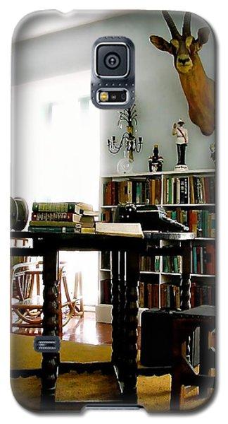 Hemingway's Studio II  Ernest Hemingway Galaxy S5 Case by Iconic Images Art Gallery David Pucciarelli
