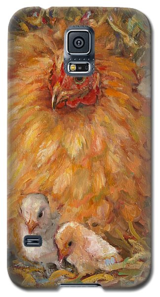 Hen And Chicks Galaxy S5 Case