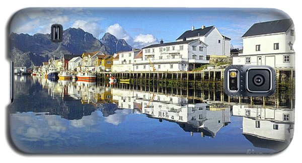 Henningsvaer Harbour Galaxy S5 Case