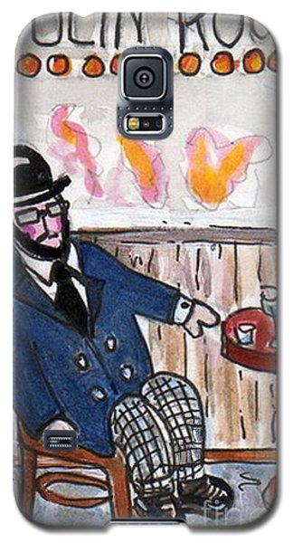 Henri Always Enjoys His Evenings. Galaxy S5 Case by Joyce Gebauer
