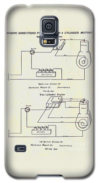 Henrichs Magnetos 1906 No.1 Galaxy S5 Case
