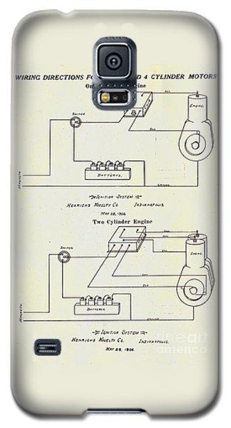 Henricks Magnetos 1906 No.1 Galaxy S5 Case