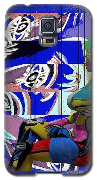 Her Abstract Journey Galaxy S5 Case