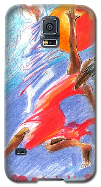 Her Dream Is To Dance Galaxy S5 Case by Mary Armstrong