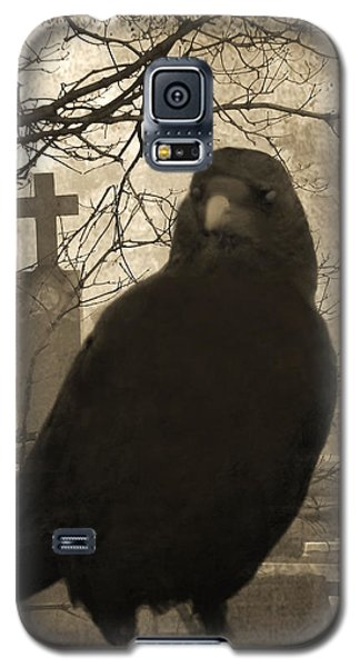 Blackbird Galaxy S5 Case - Her Graveyard by Gothicrow Images