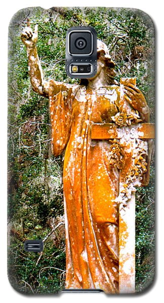 Galaxy S5 Case featuring the photograph Her Guardian Angel by Joy Hardee