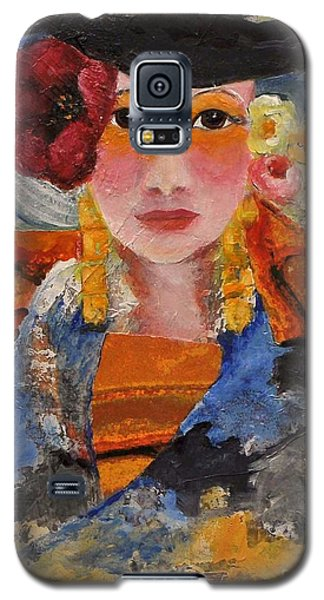Her Red Flower Galaxy S5 Case by Glory Wood