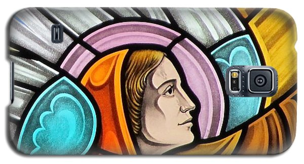 Heralding Angel Galaxy S5 Case by Gilroy Stained Glass