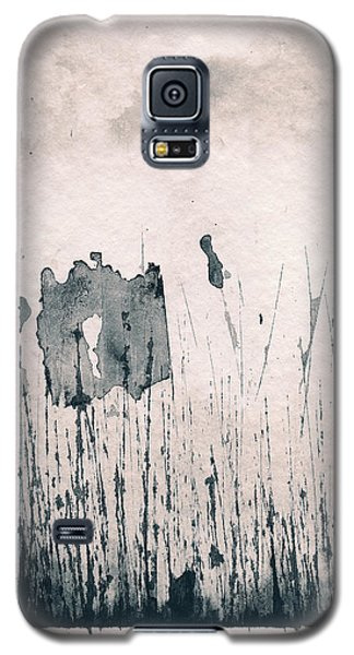 Galaxy S5 Case featuring the painting Herbes Souillees by Marc Philippe Joly